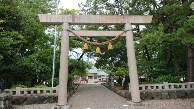 愛知県神明社(中山神明社)の鳥居