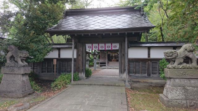黒石神社の山門