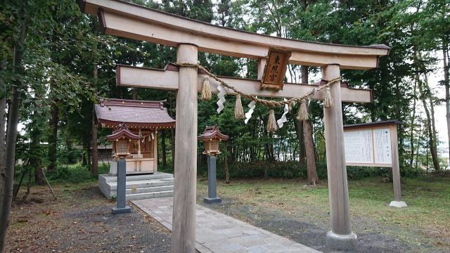 黒石神社の鳥居
