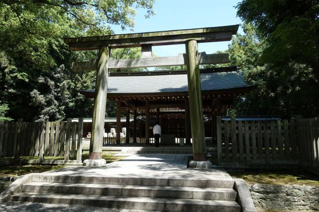 和歌山県日前神宮・國懸神宮の鳥居