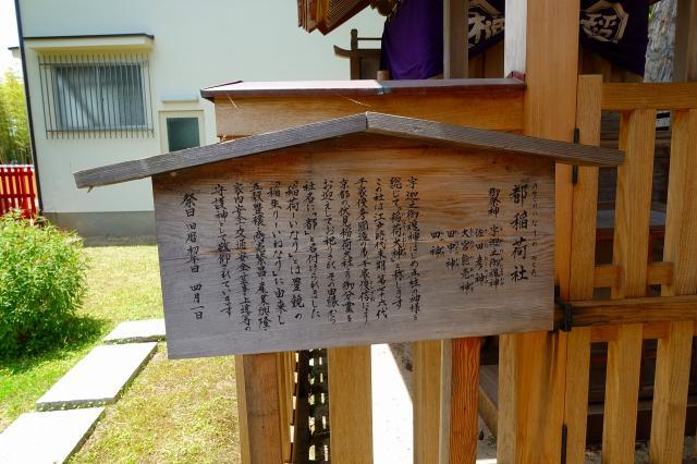 都稲荷社の歴史