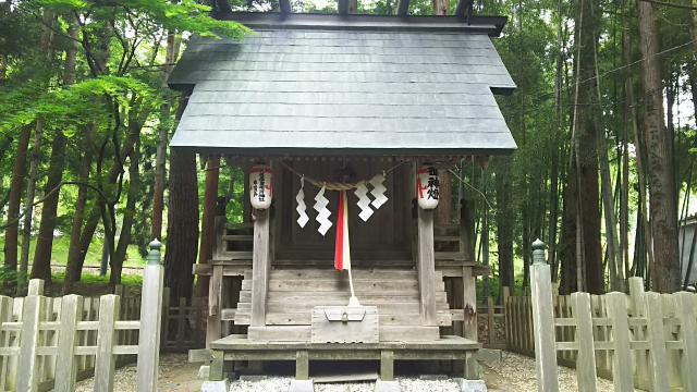 岩手県花巻温泉稲荷神社の本殿