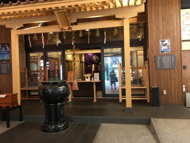 愛知県万松寺の本殿