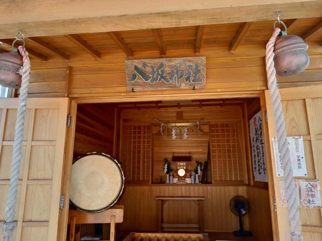 茨城県八坂神社の本殿