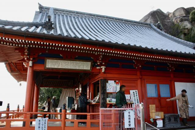 広島県千光寺の本殿