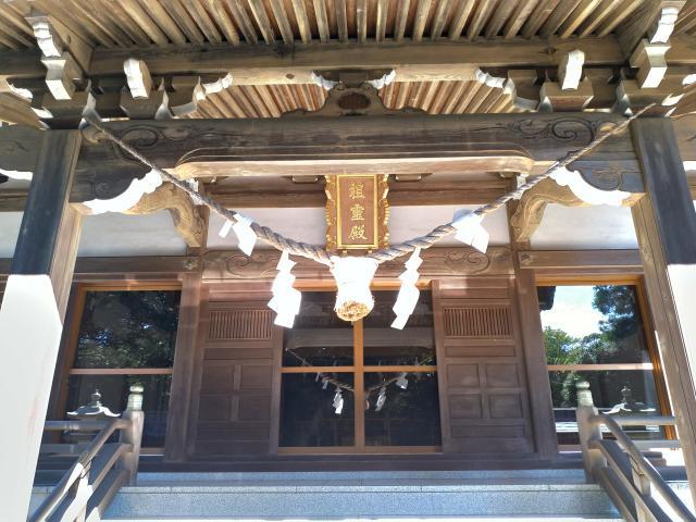 茨城県大甕倭文神社の本殿