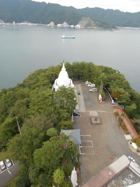 釜石大観音の景色