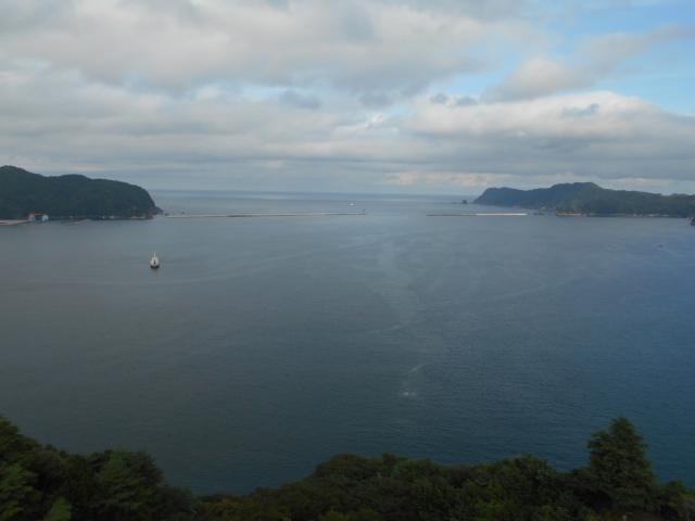 岩手県釜石大観音の景色