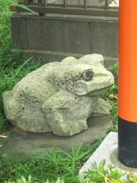 福徳稲荷神社の狛犬