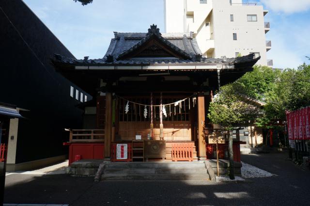東京都江島杉山神社の本殿