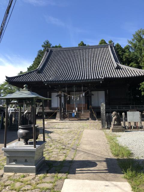 陸奥国分寺薬師堂の本殿