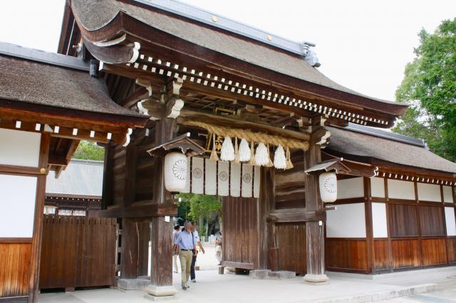 兵庫県伊弉諾神宮の山門