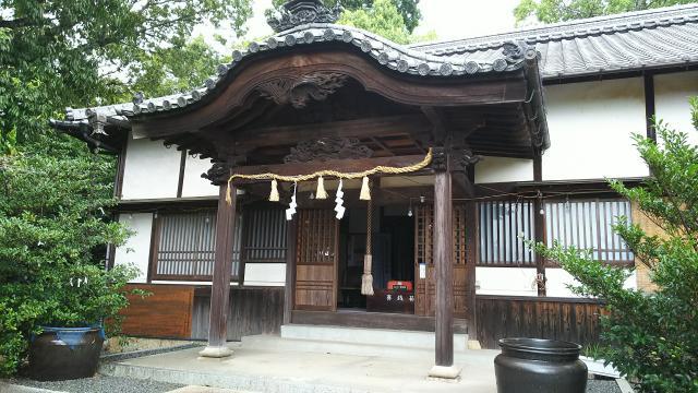 箸藏神社の本殿