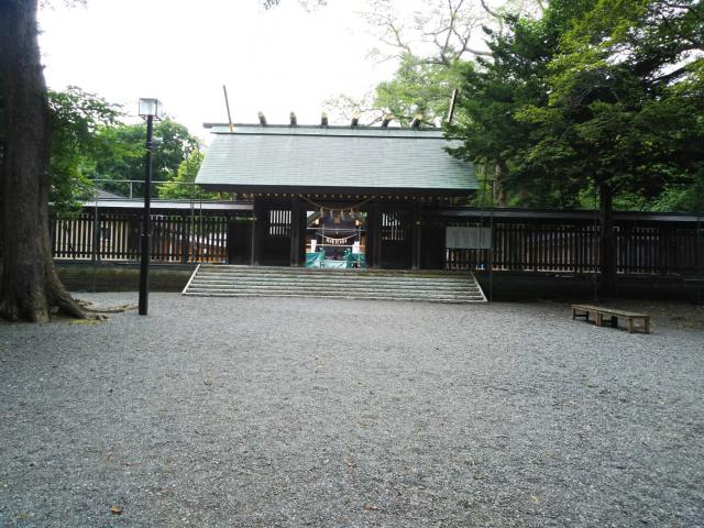 北海道千歳神社の本殿