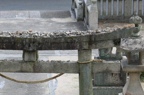 國神社の鳥居