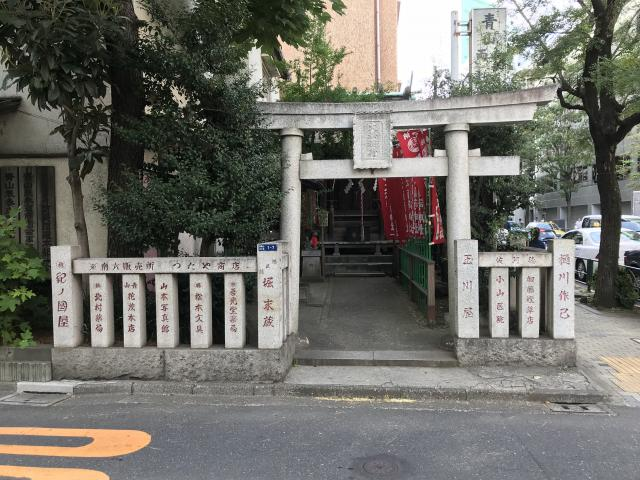 東京都大松稲荷神社の鳥居