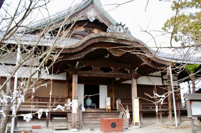 滋賀県瑞龍寺の本殿