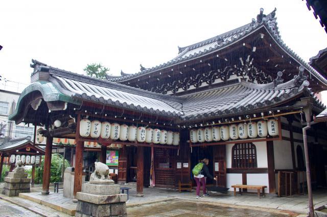 京都府摩利支天堂(禅居庵・建仁寺塔頭)の本殿