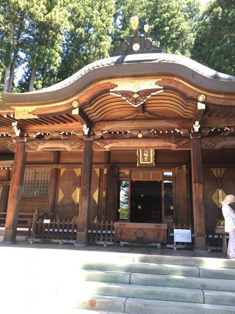 岐阜県櫻山八幡宮の本殿