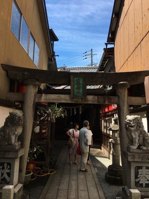 岐阜県山桜神社の鳥居