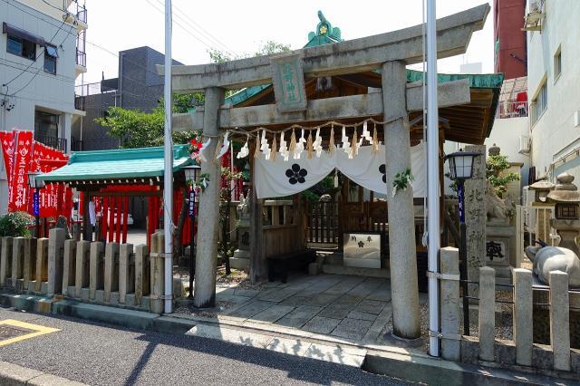 愛知県北野神社の鳥居