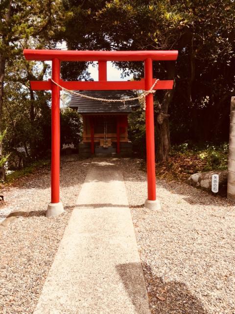 千葉県嚴島神社の鳥居