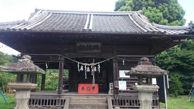 岡神社の本殿