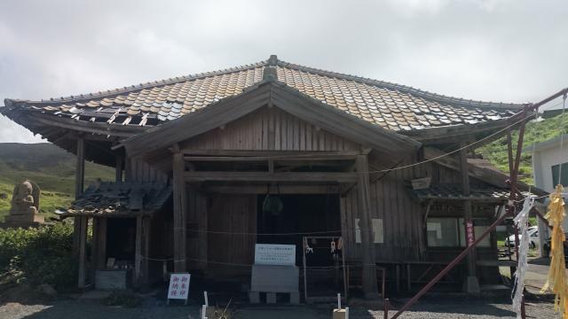 熊本県西厳殿寺 奥之院の本殿