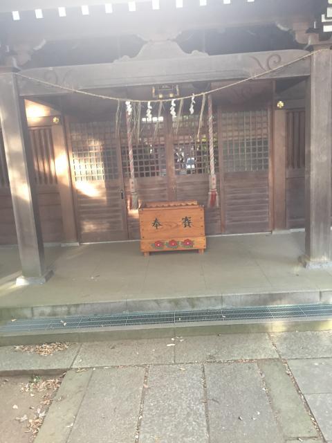 千葉県姫宮神社の本殿