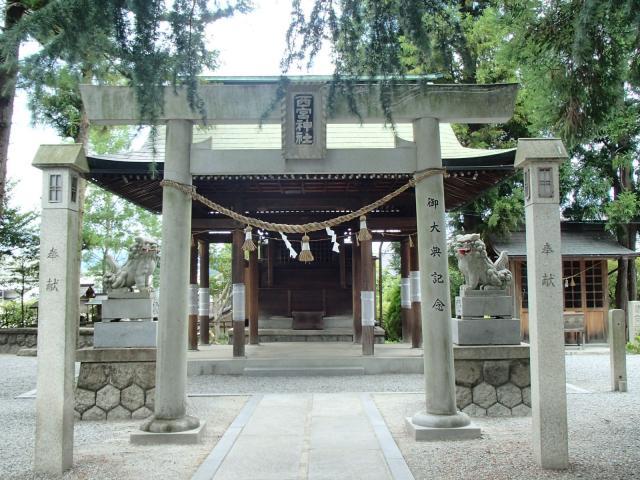 岐阜県西宮神社の本殿