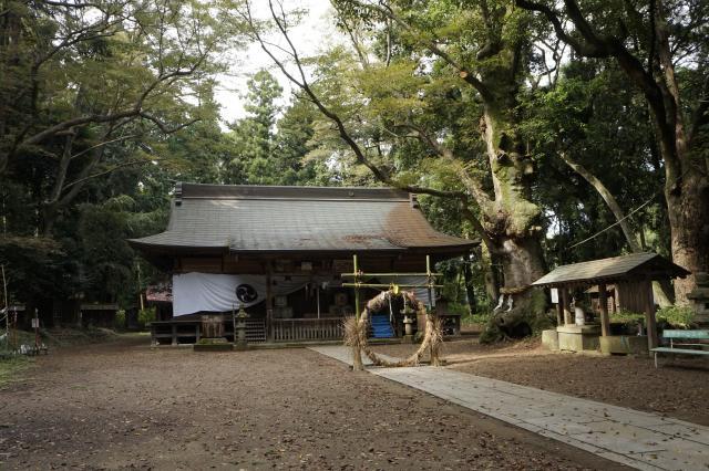栃木県中村八幡宮の本殿