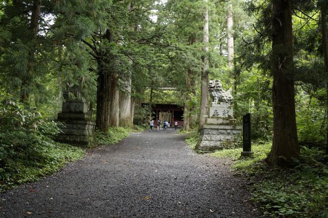 戸隠神社奥社の建物その他