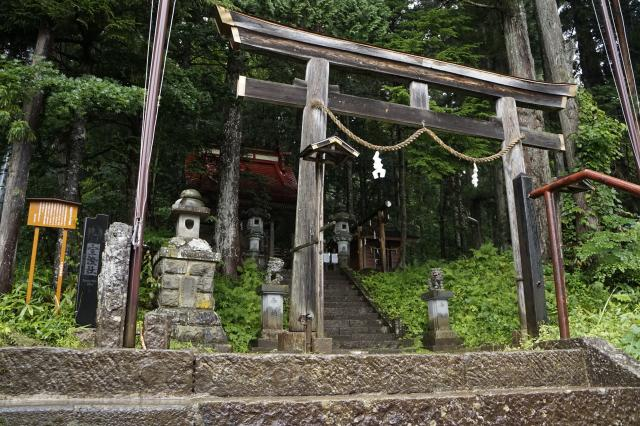 中社五斎神社の鳥居