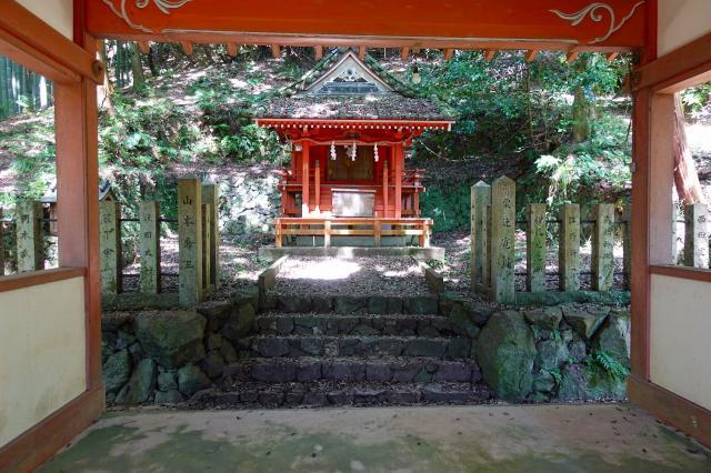 大阪府若山神社の本殿
