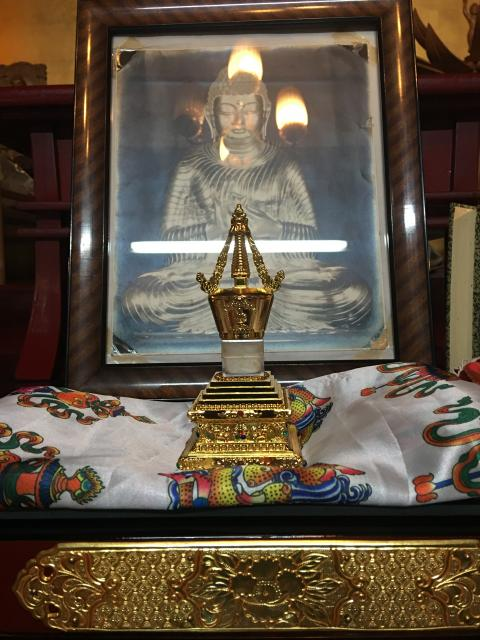 法華道場の仏像