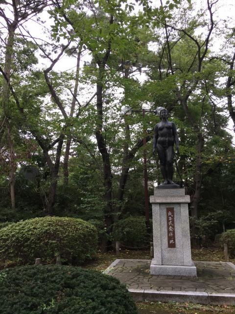 和樂備神社の像