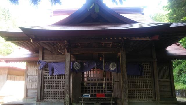 宮崎県石神神社の本殿