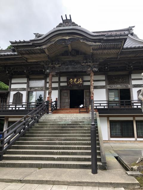 法光寺の本殿