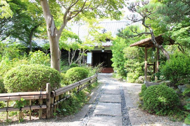 当麻寺中之坊の庭園