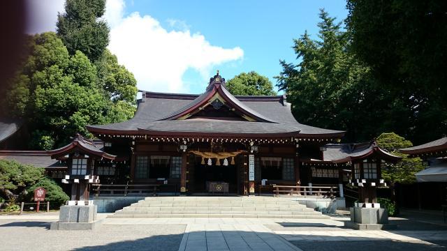 熊本県出水神社の本殿