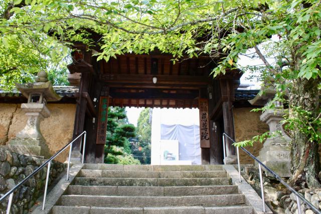 和歌山県慈尊院の山門