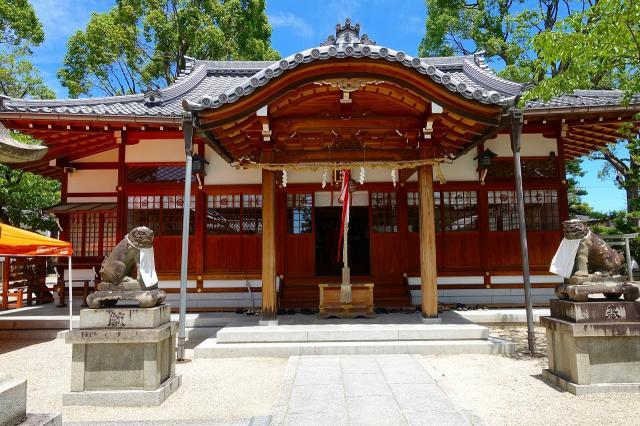 大阪府野見神社の本殿
