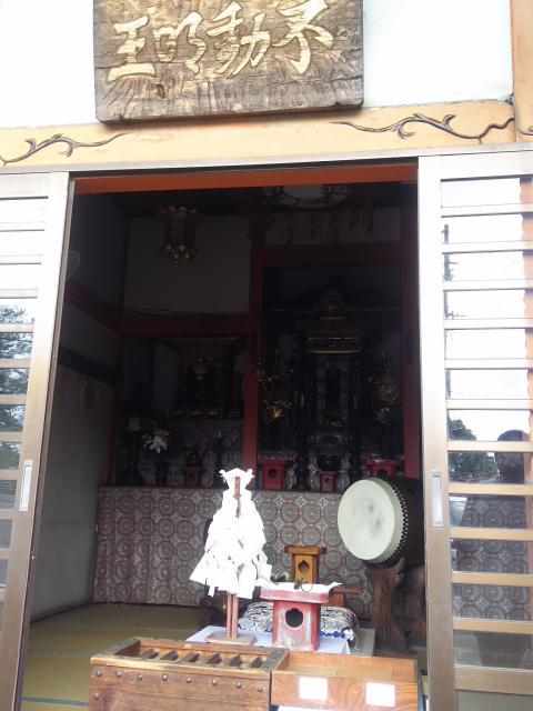 岐阜県佛眼院の本殿