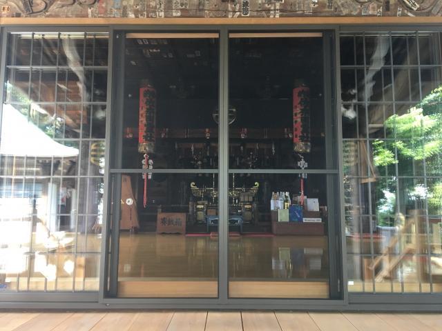 神奈川県佐奈田霊社の本殿