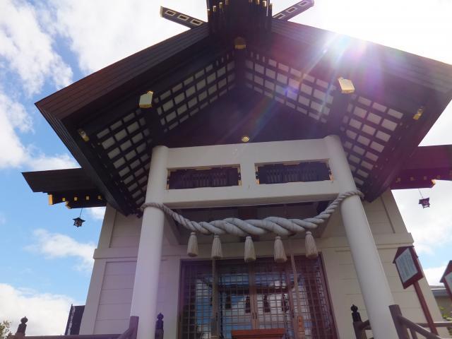 大曲神社の本殿
