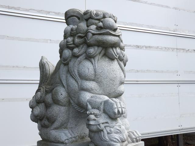 大曲神社の狛犬