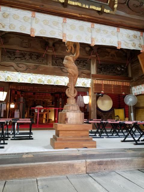 東京都田無神社の本殿
