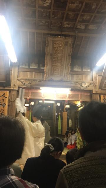 撃鼓神社(福岡県浦田駅) - 神楽の写真