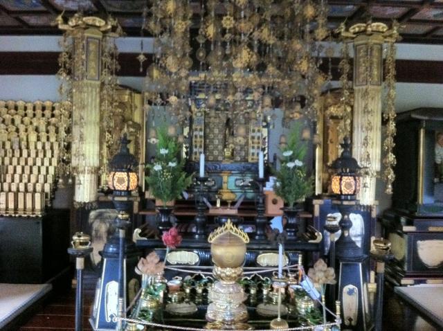 京都府大覚寺の本殿
