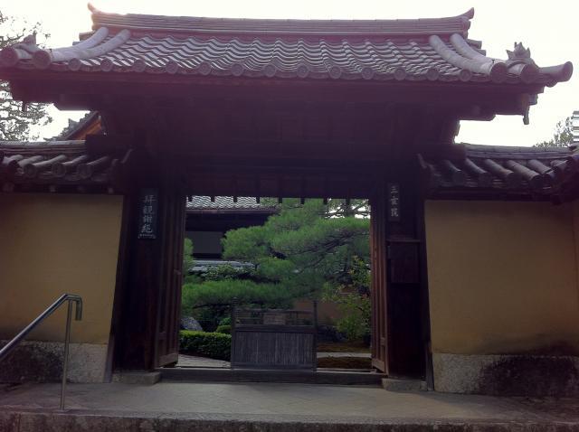 京都府大徳寺の山門
